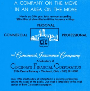 Cincinnati Financial has increased dividends since 1962. Photo courtesy matthunterross via flickr.com