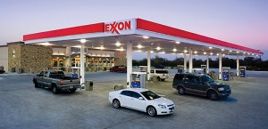 Exxon-Mobil increased their dividend for the 31st consecutive year. Photo courtesy Minale Tattersfield via Flickr.com.