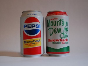 Pepsi and Mountain Dew are two of Pepsico's 22 billion dollar brands that have helped the company increase dividends since 1973. Photo courtesy K. B. R. via flickr.com.