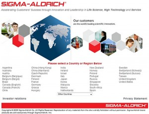 Sigma-Aldrich began increasing dividends in 1982. Photo courtesy Search Engine People Blog/flickr.com