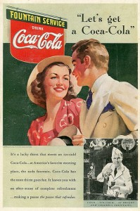 People have been getting a Coke for over a century, allowing Coca-Cola to increase dividends for 52 years. Photo courtesy twm1340/flickr.com.